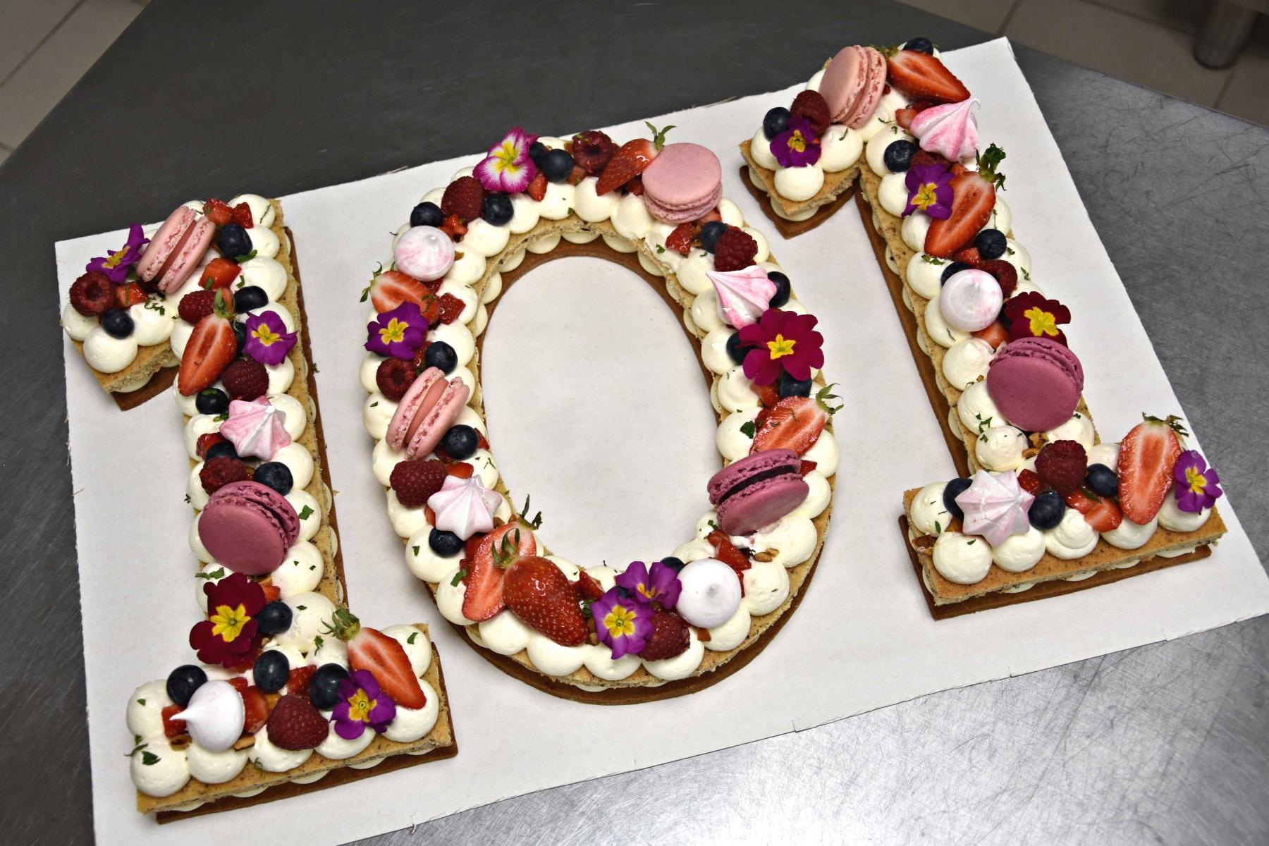 Number Cake Estival